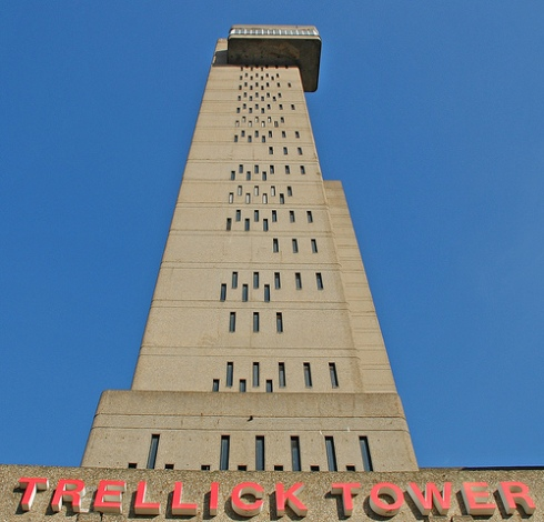 Trellick Tower from below...